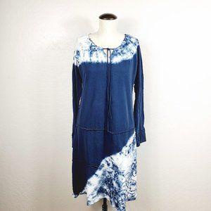 Athleta Organic Cotton Knit Tie Dye Dress